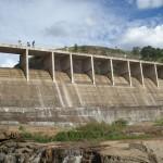 Barragem Vista pelo Vertedouro 8