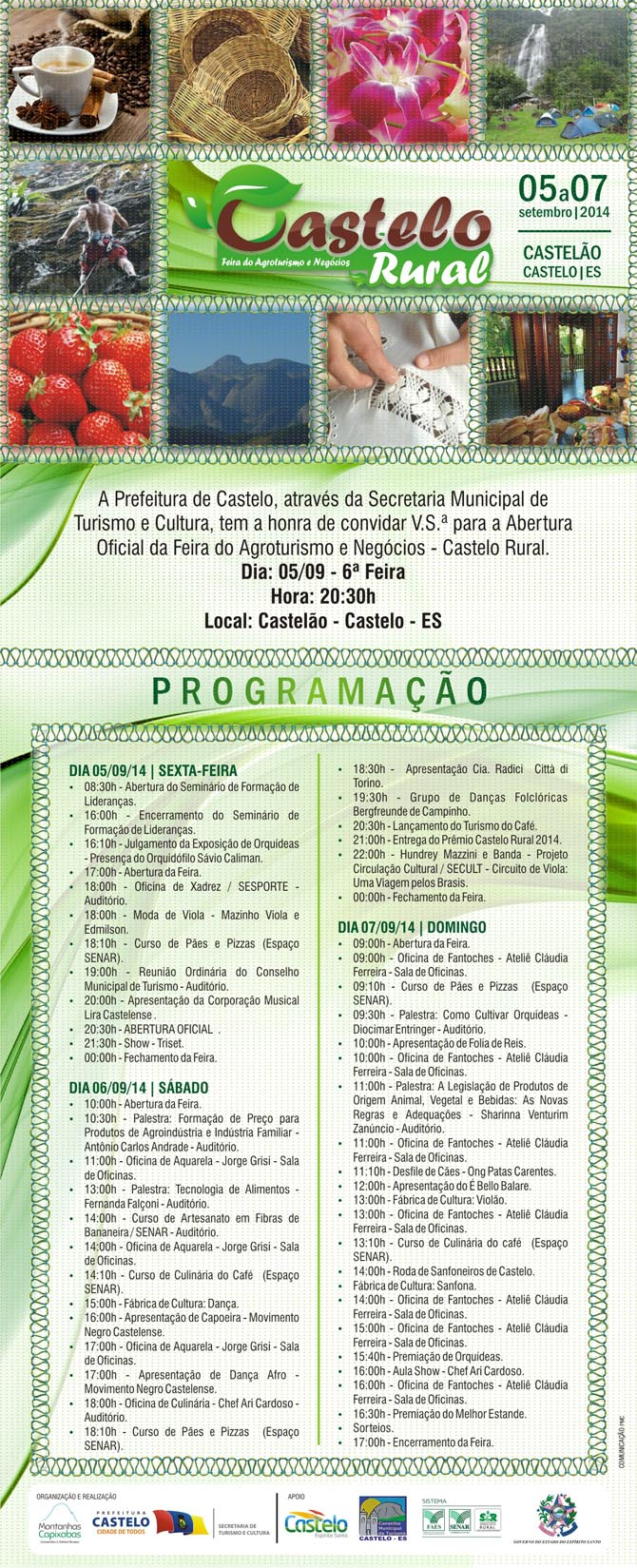 Castelo Rural 2014 - convite1