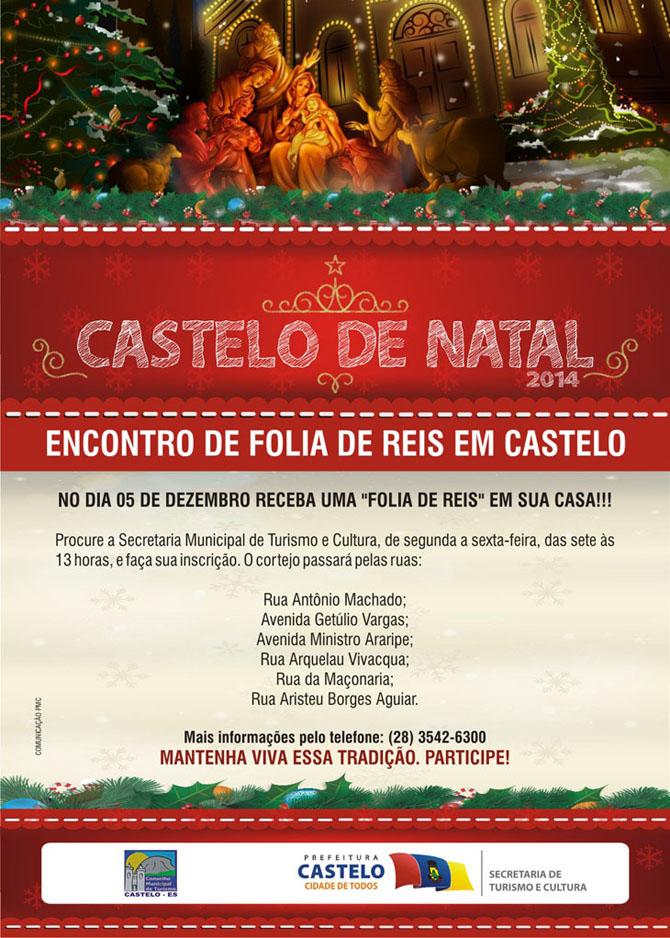 Castelo de Natal 2014 - folia