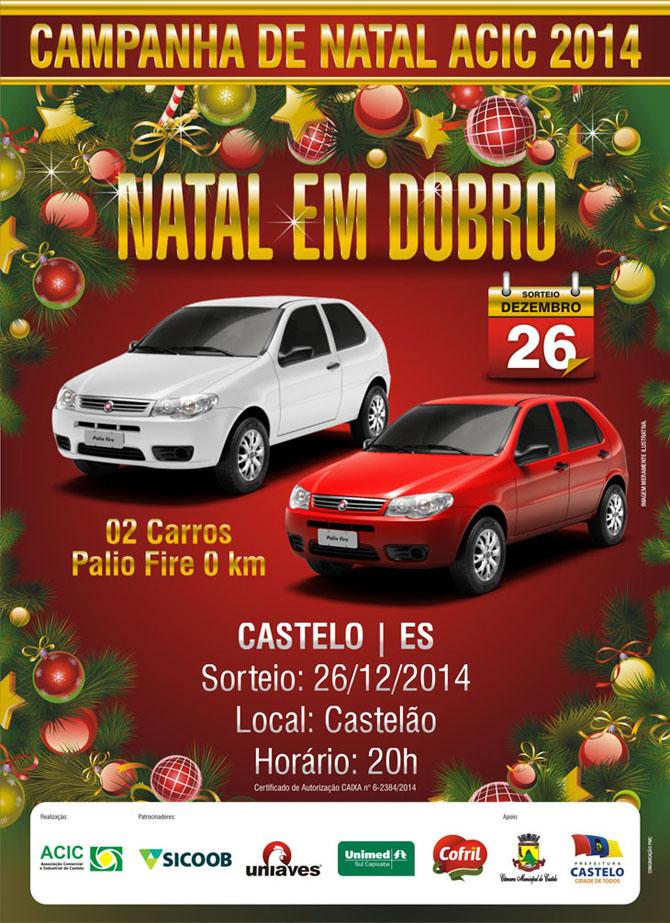 Natal ACIC 2014 - cartaz