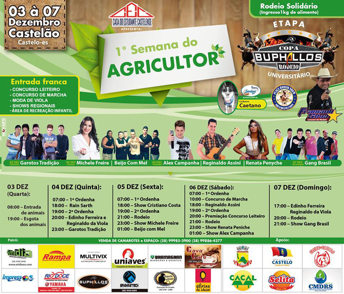 Semana do Agriculitor