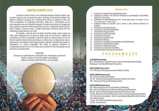 Corpus Christi 2015 - folder 2